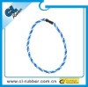 Factory direct sales two rope titanium necklac