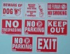 PVC Sign (Plastic Sign,Label,PVC Cards,Printed Cards,Logo)