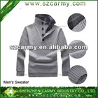 2012 Fashion Winter warm 100% cotton Men's pullover sweater,men knitwear fine gauge sweater