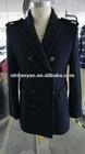 2012 new Men's wool black coat
