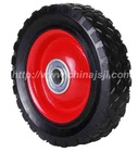 solid rubber wheel with diamond thread