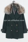 2012 Wholesale WOMEN DOUBLE BREASTED WOOL COAT