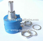 Aluminum Shaft,Aluminum Bush,WXD 3590 Precision wire-wound Potentiometer