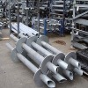 screw pile, screw piles, galvanized screw pile, helical pier, helical piers