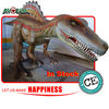 CE standard big size animatronic dinosaurs
