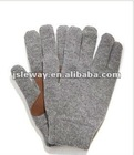 New popular cotton knitted gloves