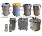powder hoppers powder tanks powder container glass hopper