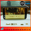2012 Unique Design for iphone 5 gold back housing bezel 24k edition mirror --Quality