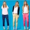 Chic Pintuck Dress Pants, Woman, Stylish, Trousers,Fashion Pants