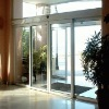 glass sliding door control system