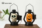 pumpkin face decorate light Halloween LED gift