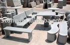 Granite table & bench(stone table & bench)