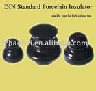 DIN shackle porcelain insulators for high voltage line
