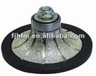 vacuum brazed diamond profiling wheel