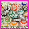 925 Silver Core Loose Lampwork Glass Beads Wholesale