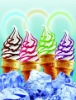 Three-color Jam ice cream making machine 0086-15838061756