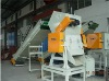 Plastic bottles and film crusher