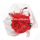 2012 fashion silk flower hair accessories