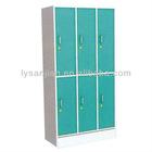 6 doors bedroom closet wardrobe cabinets