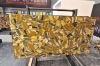 Golden Jasper semiprecious slab