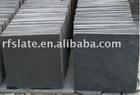 Black flooring slate tiles for floor