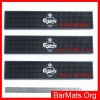 Advertising rubber pvc beer bar pads