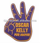 Football Fans Hot Campaign EVAoam hands cherring,foam hands