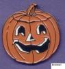 Pumpkin Halloween Pin Badge