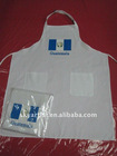 hotel and restaurant Guatemala restaurant apron with pocket ,chef full apron and restaurant staff aprons