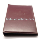 Hotel products PU leather menu holder