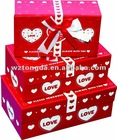 Customized paper package box for candy