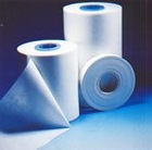 Impregnated polyester nonwoven for cast resin transformer