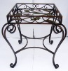 iron KD SQ dining table
