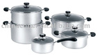10pcs soft anodized cookware set