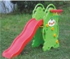 Kids Lovely CE Plastic Bear Single Slide