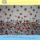 cotton floral fabric for skirt/100% cotton voile fabric for dress/cotton dress fabric