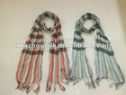 100% Viscose Double-deck Checked Scarf and Shawl