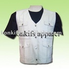 Casual 100% Cotton Working Vest