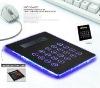 Calculator Mouse pad with 3 Port USB Hub