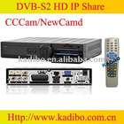 original HD DVB S2 satellite Receiver professional receiver Q5 newcamd extension