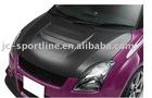 carbon fiber hood scoop, carbon fiber scoop for swift 09 SLR style