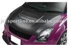 carbon fiber hood scoop, carbon fiber scoop for swift 09 SLR style