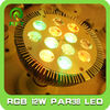 12W RGB PAR38 LED Spotlight with remote controller