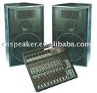 speaker box, boombox, speaker, sound box, stage speaker box