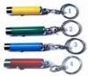 LED aluminum keychain flashlight