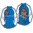 Custom sports wear polyester digital printed jacket