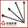 Chrome plated shock absorber piston rod