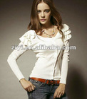 autumn lady fashion layered long sleev tops