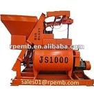 JS series JS500-1500 Twin Shaft Concrete Mixer