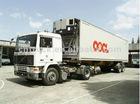 Refrigerating container semitrailer